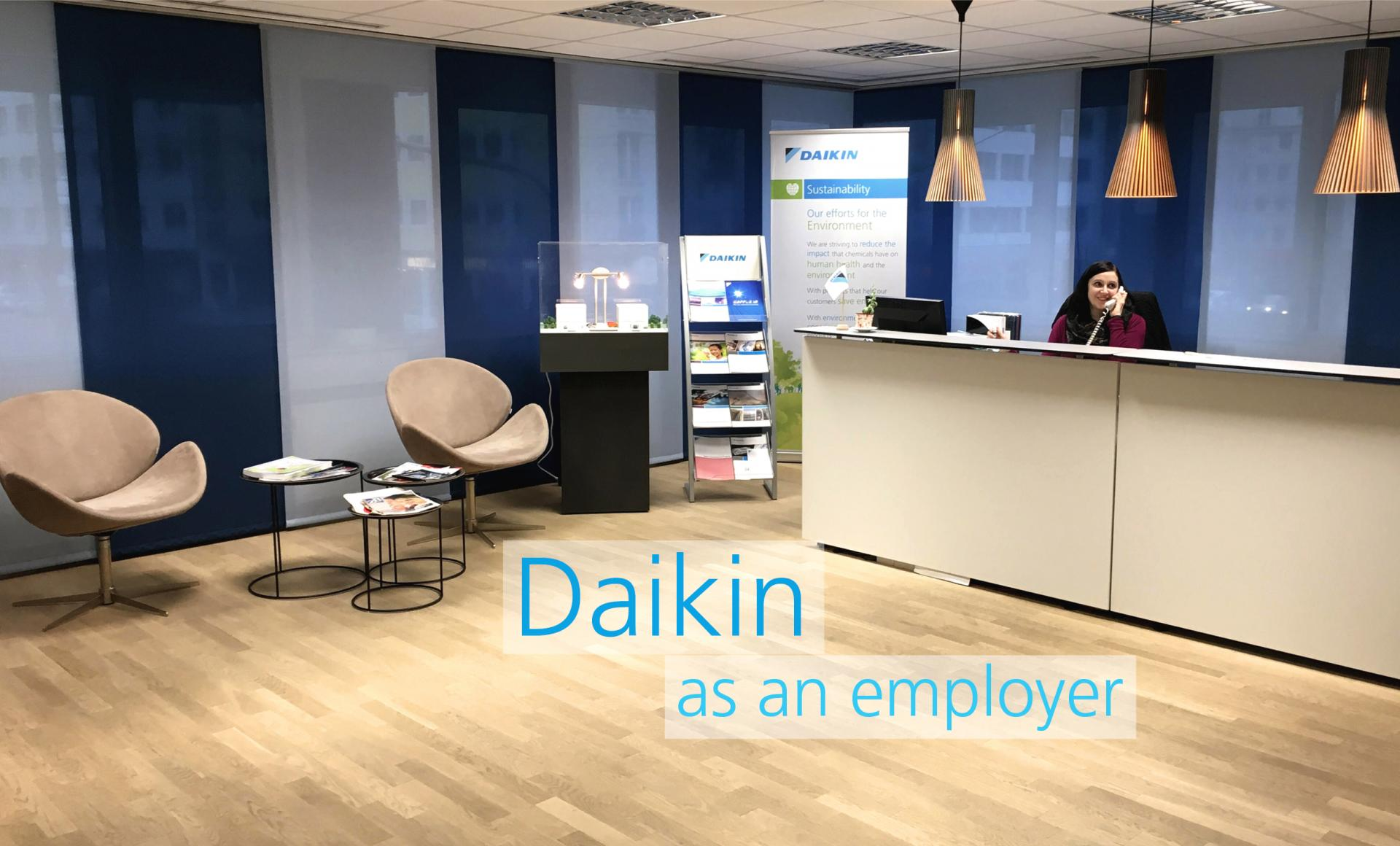 Daikin as an employer
