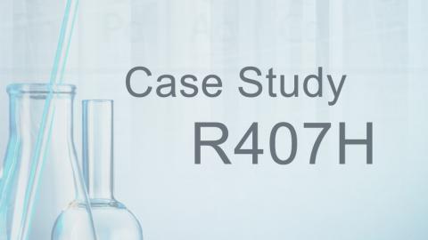 Case study R407H